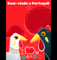 Welcome to Portugal vector image vector image