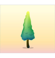 a pine tree vector image