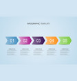 business data with abstract elements graph vector image