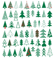 Icons conifer vector image vector image