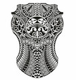 maori ethnic style vector image vector image
