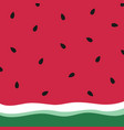 minimalist summer watermelon wallpaper vector image vector image