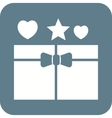 Open Gift vector image vector image
