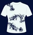 Tshirt dragon
