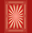 vintage retro background with celtic patterns vector image vector image