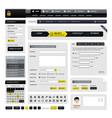 web design website element a design template vector image