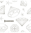 Pattern of Diamonds vector image