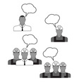 builders icons vector image