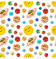 Bright cartoon planets solar system with cute