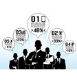 businessman concept options vector image