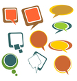 Colorful Chat Bubbles vector image
