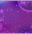 Colorful outer space background astrology