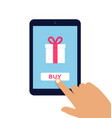 e commerce flat vector image