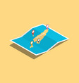 explore east timor maps with isometric style and vector image vector image