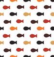 Fish seamless patternskeleton of fish