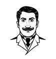 Gentleman isolated on white background design