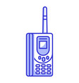 old retro vintage brick cellular phone vector image