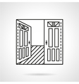 Rent of office icon vector image