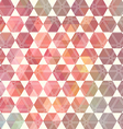 Retro pattern of geometric shapes vector image vector image