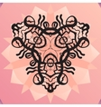 Stylized kaleidoscope medallion yoga india vector image vector image