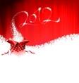 calendar design 2012 with magic gift bx vector image