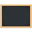 Black Chalkboard vector image vector image