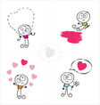 love boy vector image