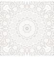 mandala background ethnicity oriental ornament vector image vector image