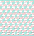 seamless pattern of cubes vector image vector image