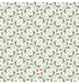 Seamless vintage fabric pattern vector image vector image