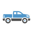 vehicle flat icon vector image