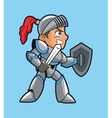 Warrior and videogame design vector image vector image