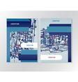 Booklet brochure flyer design vector image vector image