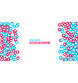 creative social network vector image vector image