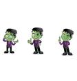 Frankenstein 2 vector image vector image