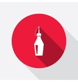 Glue icon Super glue bottle symbol vector image