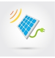 Solar Cell Panel Energy vector image