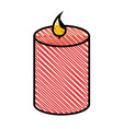 spa candles aromatherapy vector image