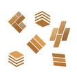 Tile wooden flooring logo