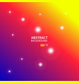 blue red yellow abstract background vector image vector image