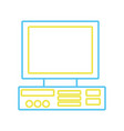 color line computer technology electronic object vector image vector image