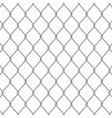 creative of chain link fence vector image