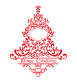 firtree ornament1 380 vector image