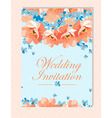 Perfect for wedding invitations and birthday vector image vector image