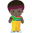 Poppy South Africa Boy vector image vector image