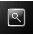 search icon background vector image vector image