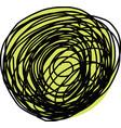 sketch of circle vector image