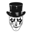 theatrical mask 17 vector image