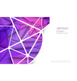 3d geometric polygon 8-23-18-3 vector image vector image