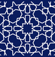 background with seamless pattern islamic style vector image